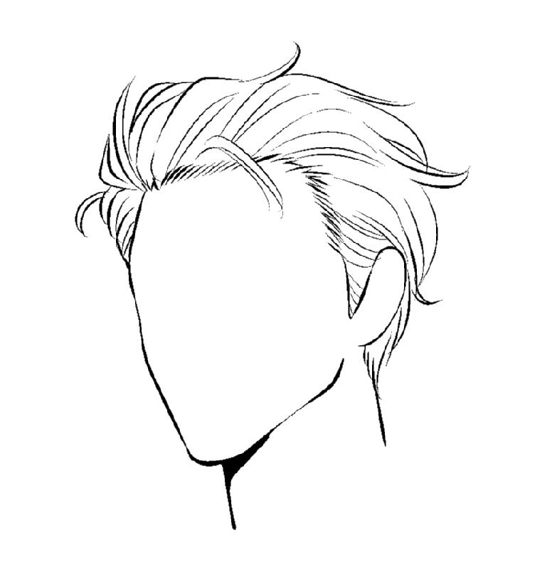 漫画テクニック 髪の描き方 男女別 髪型別の描き分け方とは Oyukihan S Blog 漫 パワー充電所