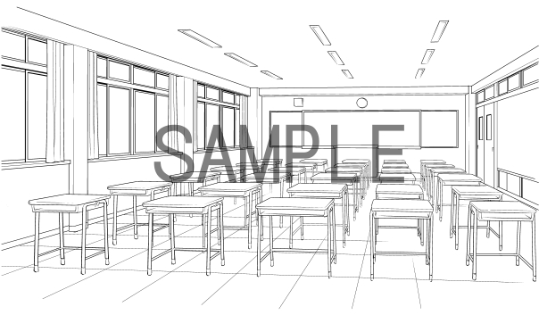 素材(教室)