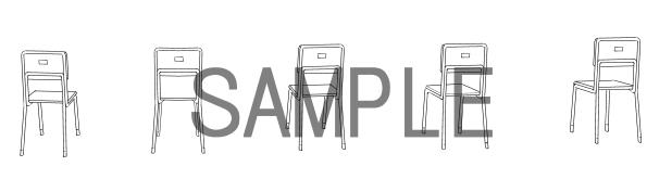 素材(椅子2)サンプル