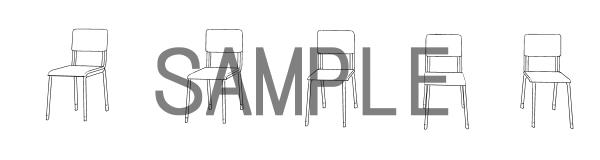 素材(椅子3)サンプル