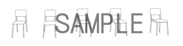 素材(椅子4)サンプル