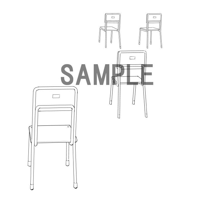 素材2(椅子2)サンプル