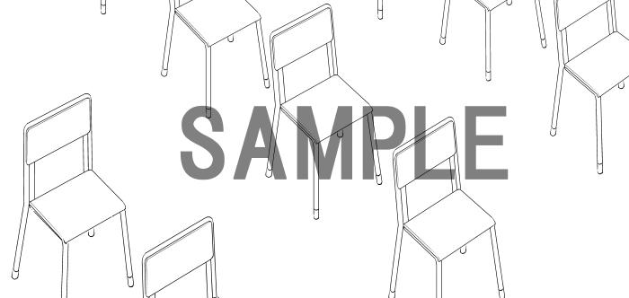 素材2(椅子)3サンプル